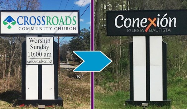 Sign Refinishing from Image360
